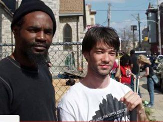 Alex Epstein (right), an urban activist. | Courtesy ALEX EPSTEIN
