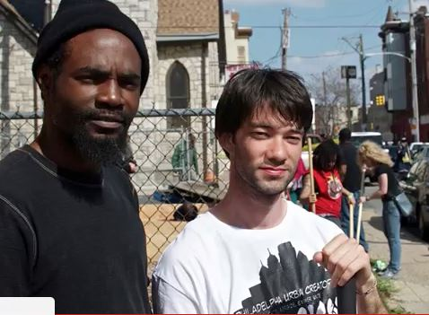 Alex Epstein (right), an urban activist. | Courtesy ALEX EPSTEIN