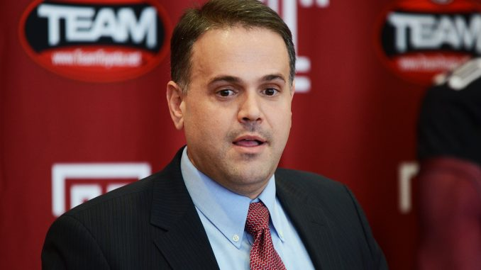 Matt Rhule will begin his second season as head coach this fall, when he will welcome 25 new players to the team's roster. | Andrew Thayer TTN