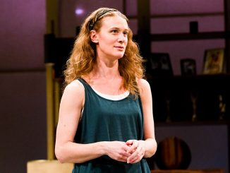 "Krista Apple takes the largest stage in her career thus far at the Walnut Street Theatre in Jon Robin Baitz's ""Other Desert Cities."" 