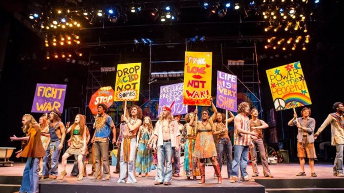 """Student-actors who performed """"Hair"""" said participating in the show left them feeling motivated to promote social change in today's world. The title of the musical reflects the styles of '60s era hair, particularly that of the hippie community. 