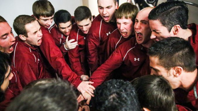 The men's gymnastics team will compete in its final event this weekend, the ECAC Championships, before the university's athletic cuts will take affect later this year. It is possible that the team could return as a club sport next year. | HUA ZONG TTN