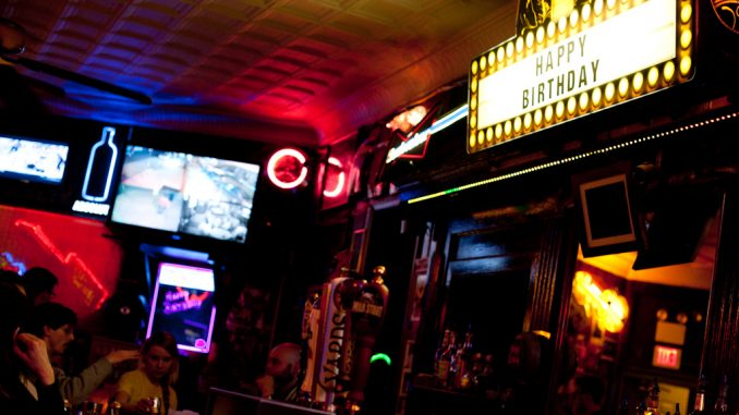 """Lou Capozzoli named Ray's Happy Birthday Bar at 1200 E. Passyunk Ave. after his father's habit of wishing all the customers a """"happy birthday.""""  Alex Udowenko TTN"""