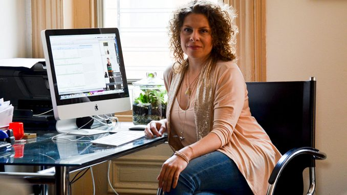 Designer Sarah Van Aken went from waiting tables after graduation to opening, SA VA, her own women's clothing line.   Sergei Blair TTN