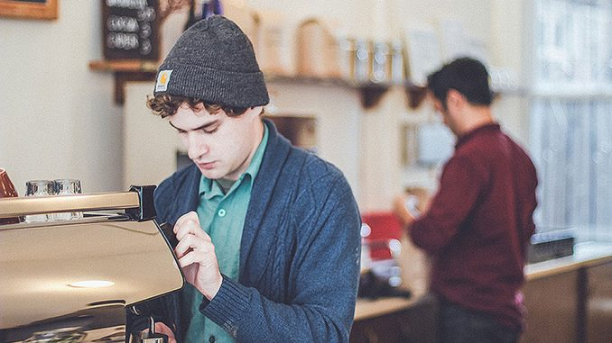 OX Coffee is the second business to be featured in Philly Makers started by Cory Popp earlier this year. Philly Makers' main goal is to promote up-and-coming small businesses by creating specialty videos for them. | COURTESY CORY POPP