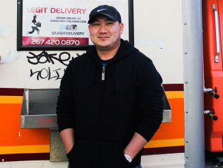 Peter Shin bought both the Burger and Cheese Busz and Busz Sushi and Dim Sum from Juno Park. Though Shin said the menu will remain the same, he plans to rewrap the exterior of Burger and Cheese Busz truck using Brands Imaging. | Alisa Miller TTN