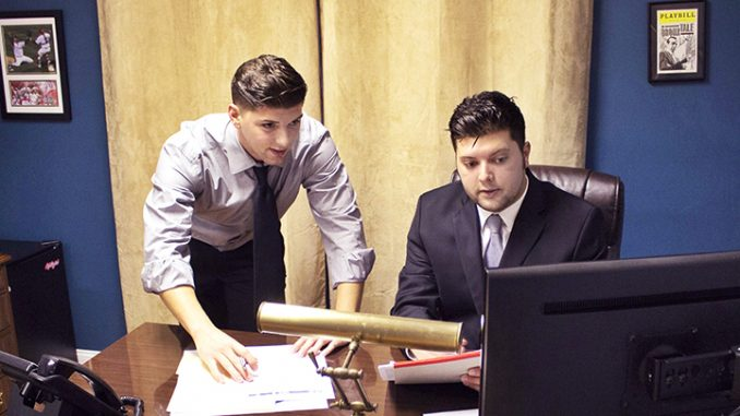 Nick (left) and Vincent Sannuti started Aphillyated Apparel in 2010. |COURTESY APHILLYATED APPAREL