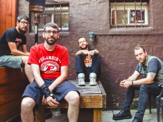 Band members Tim Hoh Jr., Jim, Dim and Tony Goggles started making one music video a month for a year. BRIANNA SPAUSE   TTN
