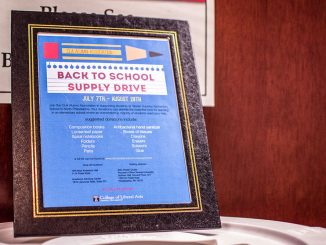 The CLA Back to School suppy drive began July 7. Aaron Windhorst | TTN