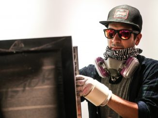 Graffiti artist Cosbe attributed his recent success to participating in Red Bull Curate's competition two years ago. Andrew Thayer | TTN