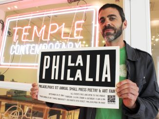 Philalalia, a three-day poetry and art fair, will soon open. Claire Sasko | TTN