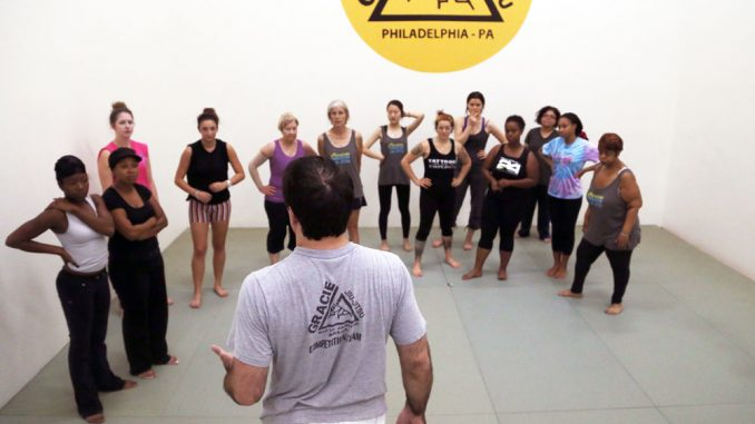 Gracie Academy Philadelphia teaches Brazilian jiu-jitsu for self-defense on the first Saturday of every month. Andrew Thayer | TTN