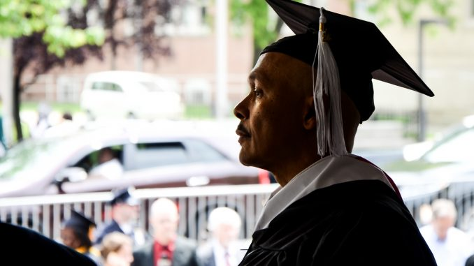 In 2013, more than 9,000 students graduated from Temple, marking the university's largest graduating class ever. Andrew Thayer  TTN