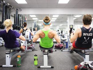 The rowing team breaks in their new training facility. Kara Milstein   TTN