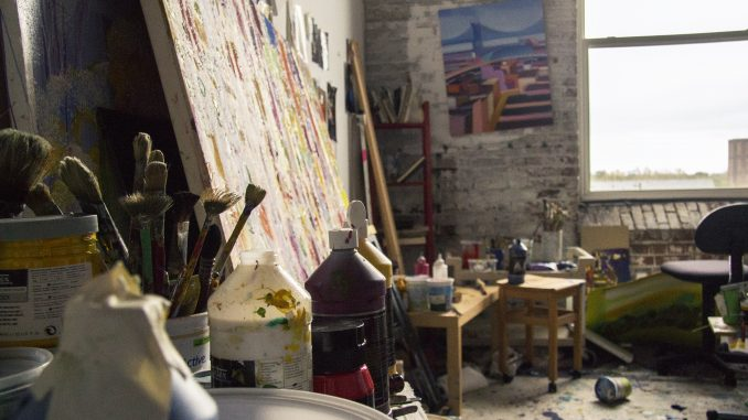 PaperMill artists make their work available to their neighbors. Margo Reed | TTN