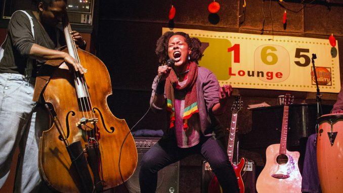 Yolanda Wisher performed at Mighty Hip's event, Mighty Virtuoso, on Nov. 8. in Germantown. Kara Milstein | TTN