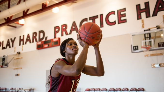 Junior guard Mama Traore transferred to Temple after spending two years at Burlington County College. Kara Milstein | TTN