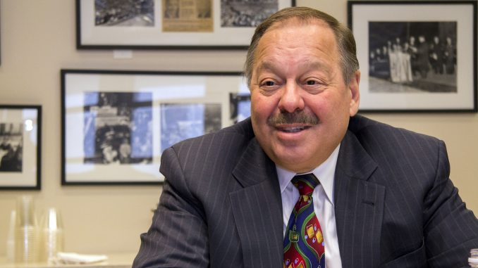 Nelson Diaz, a lawyer and former judge, discusses his Temple ties and platform for his mayoral candidacy. | Margo Reed TTN