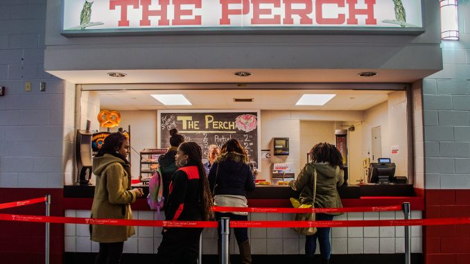 The Perch offers food to students at a discounted price of 25 percent cheapter than other venue options. | Brianna Spause TTN