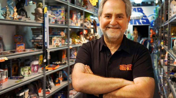 Steve Sansweet is the president and CEO of Rancho Obi-Wan – the largest collection of Star Wars memorabilia in the world. | COURTESY STEVE SANSWEET