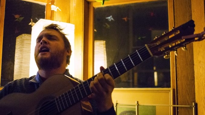 Sam Cook-Parrott of Radiator Hospital helped put together a capped show to benefit DIY PHL on Jan. 11 in which the band played. The show was held at the Hazel House at 6 p.m. Kara Milstein | TTN