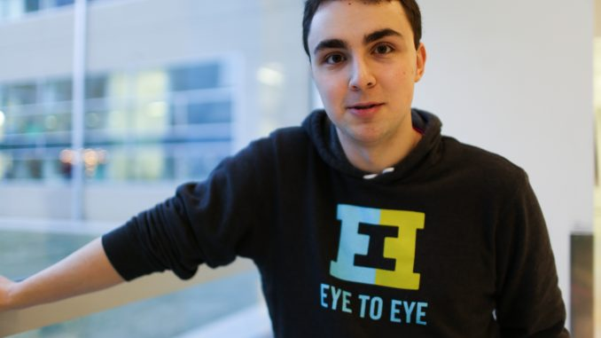 Matt Cahill, a senior history education major, worked to implement a Temple chapter of the Eye to Eye program, which partners Temple students with local high schoolers. | JENNY KERRIGAN TTN