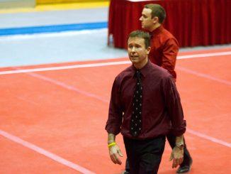 Women's gymnastics coach Aaron Murphy. | Allan Barnes TTN