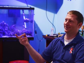 Scubadelphia owner David Barnes regularly hosts diving instruction and professional divers to speak to the Seahorses Dive Club. | Allan Barnes TTN