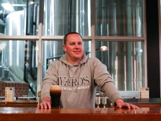 Matt Hall is a brewer at Philadelphia's Yards Brewing Company. | Jenny Kerrigan TTN