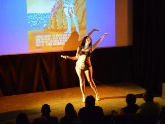 Iris Explosion hosts the Miyazaki Burlesque show at PhilaMOCA on Feb. 21.   Alexa Zizzi TTN