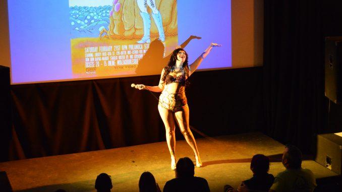 Iris Explosion hosts the Miyazaki Burlesque show at PhilaMOCA on Feb. 21. | Alexa Zizzi TTN