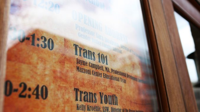 The event included panels on a variety of issues pertinent to the transgender community. | Kara Milstein TTN