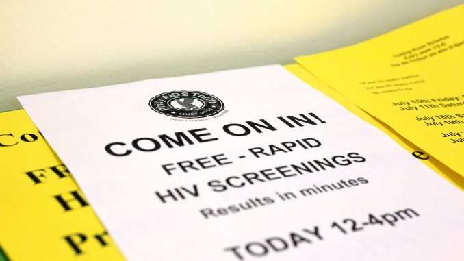 Philly AIDS Thrift, a non-profit thrift store off of South Street, opened a free HIV screening clinic in their store in late June. Since it's conception, Philly AIDS Thrift has been devoted to assisting local organizations in the fight against AIDS. | Jenny Kerrigan, TTN