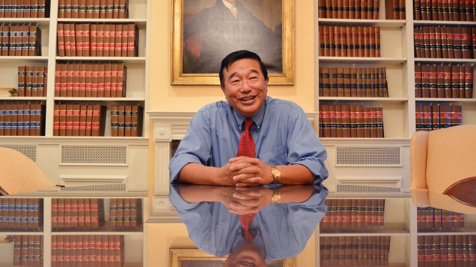 Jan Ting, a law professor at Temple, has been teaching at Temple for 38 years. He teaches in the areas of citizenship and immigration law and tax law. | Daniela Ayuso TTN