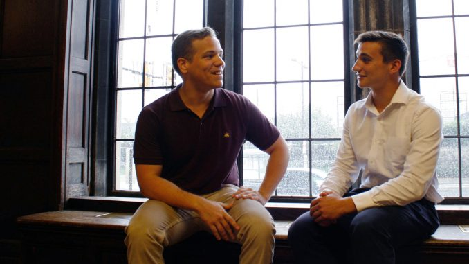 Steven Ritchie and Mack Curso co-founded Temple's 1 in 4 Program. | Kathryn Stellato TTN