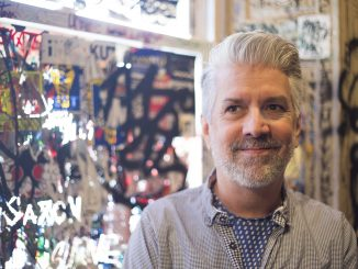 """Robert Perry, owner of Tattooed Mom, hosted the """"TV Rots Your Brains"""" pop-up shop showcasing nostalgic pop culture. 