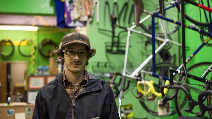 Jacob Kenney bought Neighborhood Bike Works, located on Susquehanna Avenue near Broad Street. | Patrick Clark TTN